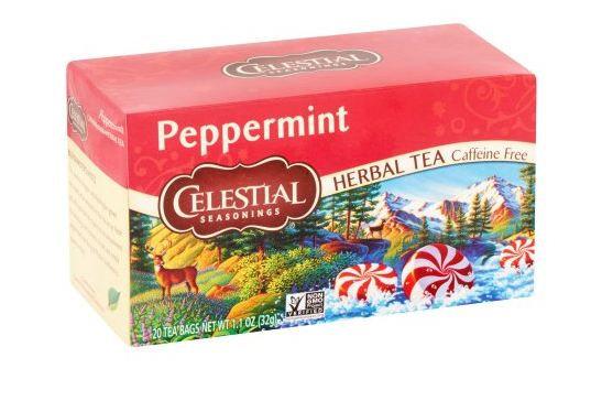 Celestial Seasonings Peppermint Herbal Tea Caffeine Free Reviews