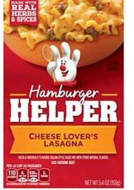 Betty Crocker™ Hamburger Helper Cheese Lover's Lasagna