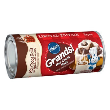 Pillsbury Grands! Hot Cocoa Rolls with Marshmallow Icing