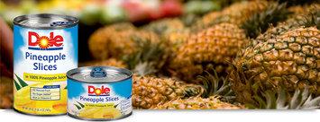 Dole Pineapple Slices In 100% Pineapple Juice