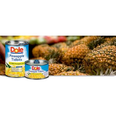 Dole Pineapple Tidbits In 100% Pineapple Juice