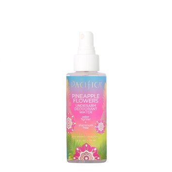 Pacifica Pineapple Flowers Underarm Deodorant Water