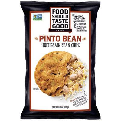 Food Should Taste Good Pinto Bean Multigrain Bean Chips