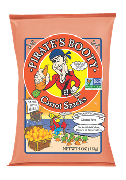 Pirate's Booty Carrot Snacks with Sea Salt
