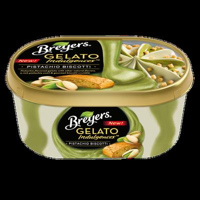 Breyers® Gelato Indulgences™ Pistachio Biscotti