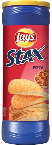 LAY'S® STAX® Pizza Flavored Potato Crisps