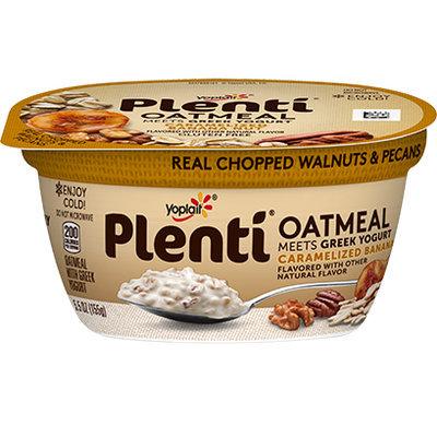 Yoplait® Plenti™ Caramelized Banana Nut Oatmeal Meets Greek Yogurt