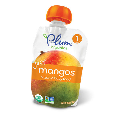 Plum Organics Just® Fruit Mangos