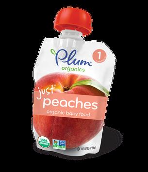 Plum Organics Just® Fruit Peaches