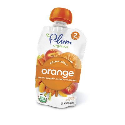 Plum Organics Eat Your Colors® Orange – Peach, Pumpkin, Carrot & Cinnamon