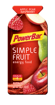 PowerBar Energy Simple Fruit Apple Pear Raspberry