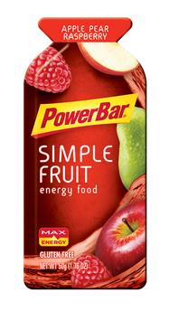 PowerBar Energy Simple Fruit Apple Pear Raspberry