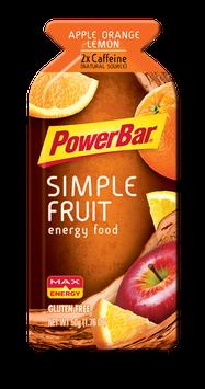 PowerBar Simple Fruit Energy Food Apple Orange Lemon