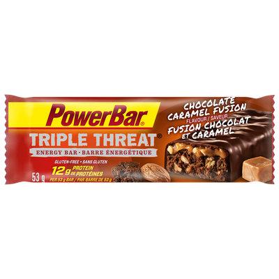 PowerBar Triple Threat Protein Bar Chocolate Caramel Fusion