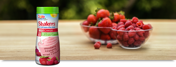 Dole Nutrition Plus Shakers Red Power Strawberry Raspberry With Red Beet & Purple Carrot