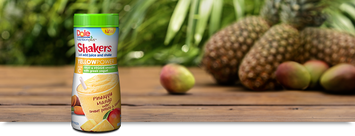 Dole Nutrition Plus Shakers Yellow Power Pineapple Mango with Sweet Potato & Carrot