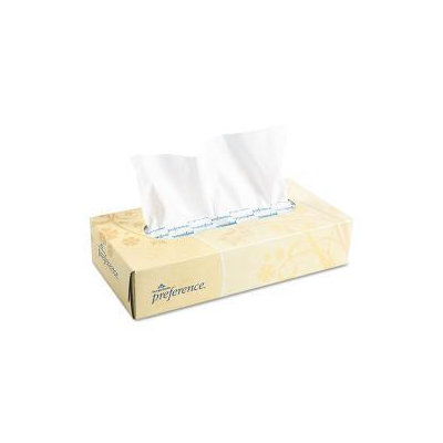 Georgia Pacific Preference Facial Tissue, 100pk, 30/Case