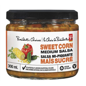 President's Choice Sweet Corn Medium Salsa