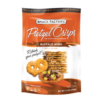 Pretzel Crisps® Deli Style Buffalo Wing Pretzel Crackers