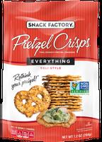 Pretzel Crisps® Crackers Everything