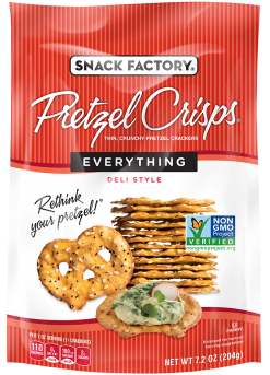 Pretzel Crisps® Crackers Everything