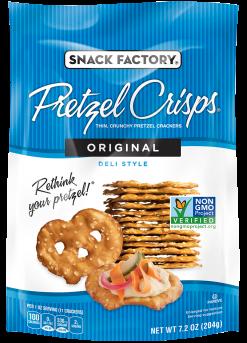 Pretzel Crisps® Crackers Original