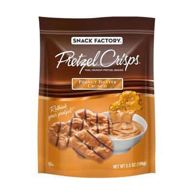 Pretzel Crisps® Crunch Peanut Butter