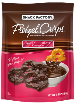 Pretzel Crisps® Snacks Dark Chocolate Crunch