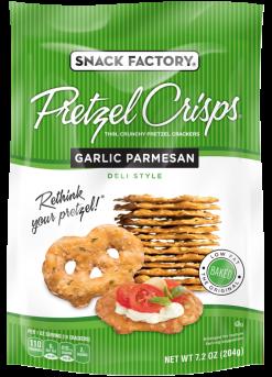 Pretzel Crisps® Deli Style Garlic Parmesan