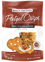 Pretzel Crisps® Crackers Honey Mustard & Onion