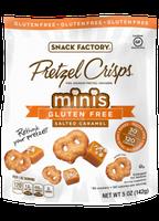Pretzel Crisps® Minis Gluten Free Crackers Salted Caramel