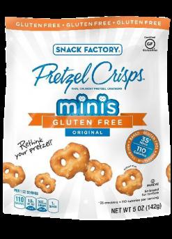 Pretzel Crisps® Minis Gluten Free Original Crackers