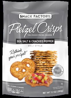 Pretzel Crisps® Sea Salt & Cracked Pepper
