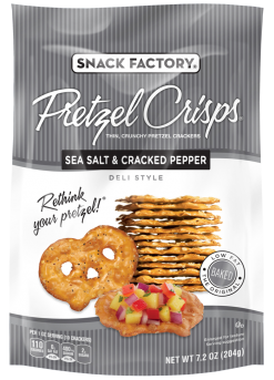 Pretzel Crisps® Sea Salt & Cracked Pepper