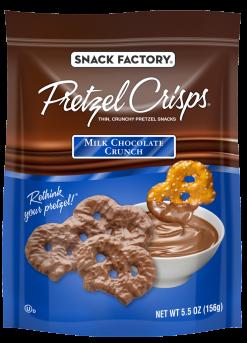 Pretzel Crisps® Snacks Milk Chocolate Crunch