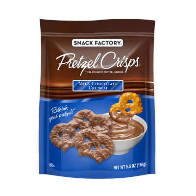 Pretzel Crisps® Snacks Milk Chocolate Crunch