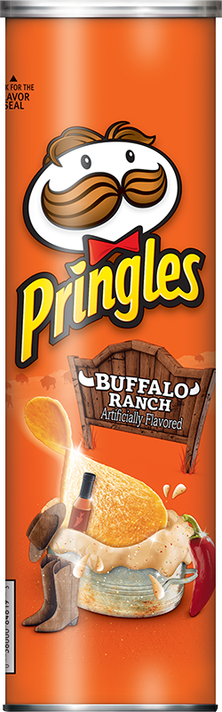 Pringles® Buffalo Ranch Crisps