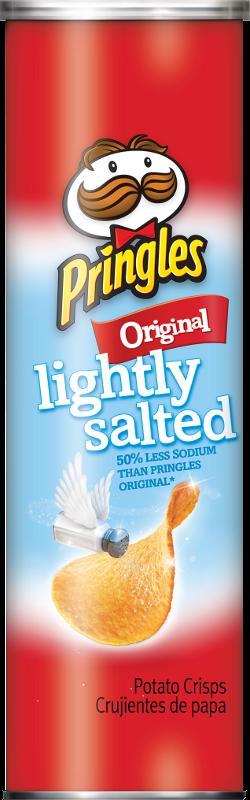 Pringles® Lightly Salted Original Potato Crisps