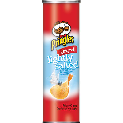 Pringles® Lightly Salted Original Potato Crisps