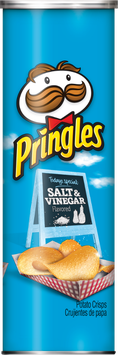 Pringles® Salt & Vinegar Potato Crisps