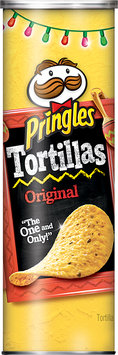 Pringles® Tortillas Truly Original Crispy Corn & Black Bean
