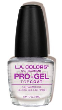 L.A. Colors Pro Gel Top Coat Treatment