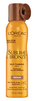 L'Oréal Paris Sublime Bronze™ ProPerfect Salon Airbrush Self-Tanning Mist Medium Natural Tan