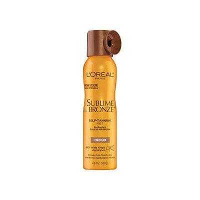 L'Oréal Paris Sublime Bronze™ ProPerfect Salon Airbrush Self-Tanning Mist Medium Natural Tan