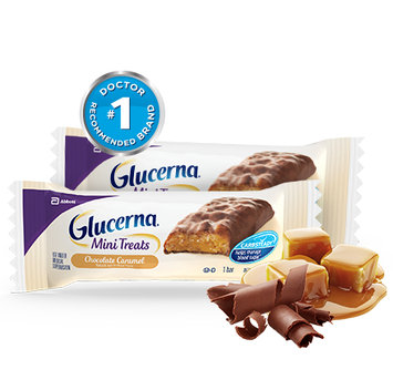 Glucerna® Mini Treats Chocolate Caramel