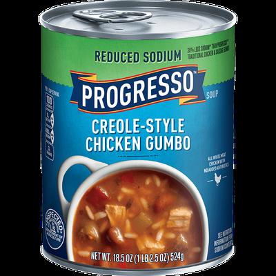 Progresso™ Reduced Sodium Creole-Style Chicken Gumbo Soup