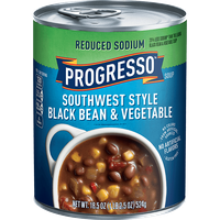 Progresso™ Reduced Sodium Gluten-Free Southwest Style Black Bean & Vegetable Soup
