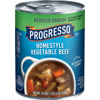 Progresso™ Reduced Sodium Homestyle Vegetable Beef Soup