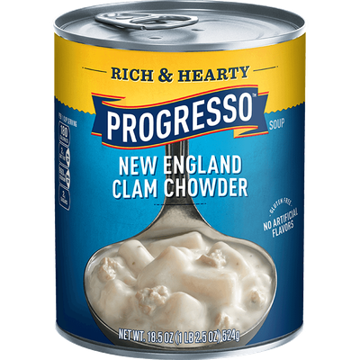 Progresso™ Rich & Hearty New England Clam Chowder Soup