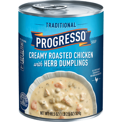 Progresso™ Traditional Creamy Roasted Chicken with Herb Dumpling Soup